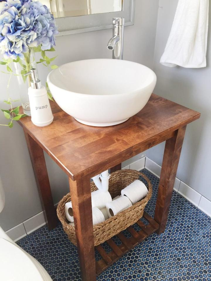 7 brilliant and affordable ways to use ikea items in the for Ikea cart bathroom