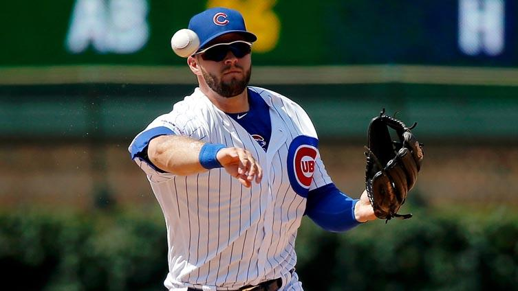 Cubs recall David Bote from Triple-A with Anthony Rizzo's back ailing