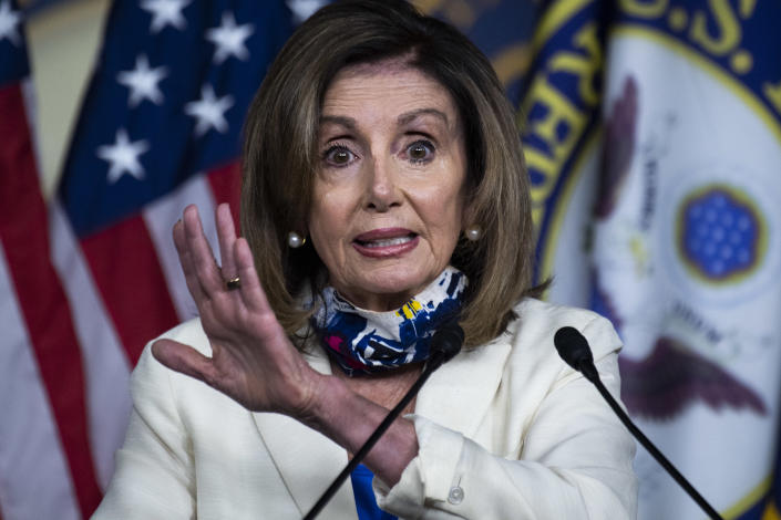 House Speaker Nancy Pelosi. (Tom Williams/CQ Roll Call via Getty Images)
