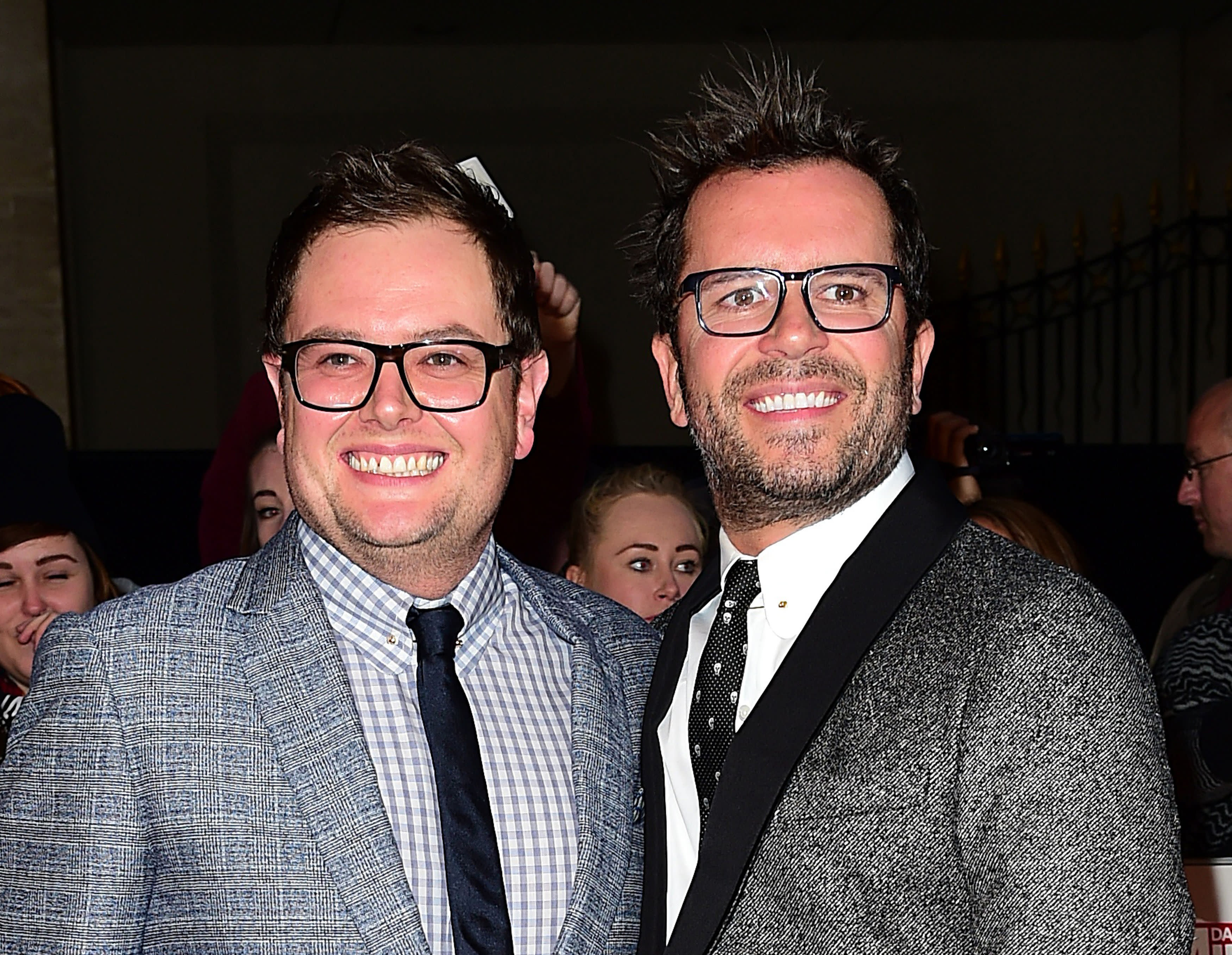 bb46b77018d Alan Carr shares how he got married to Paul Drayton in Adele s ...