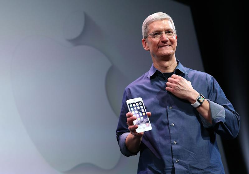 Apple sold 41 million iPhones during the quarter