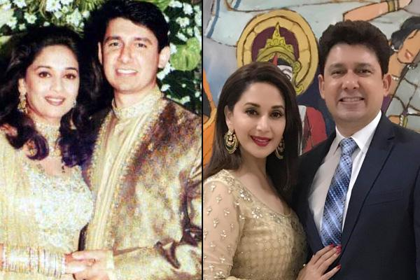 Madhuri Dixit and Dr. Shriram Nene