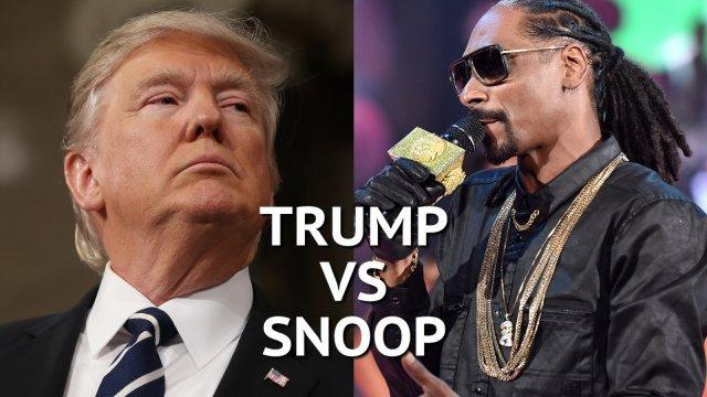 Donald Trump vs Snoop Dogg: Rapper's new video condemned by US president