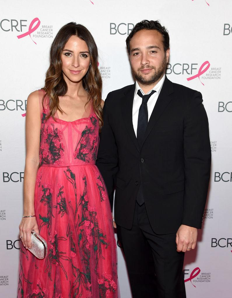 Arielle Charnas and her husband Brandon are under fire for fleeing to the Hamptons after Charnas tested positive for COVID-19. (Photo by Jamie McCarthy/Getty Images for Breast Cancer Research Foundation)