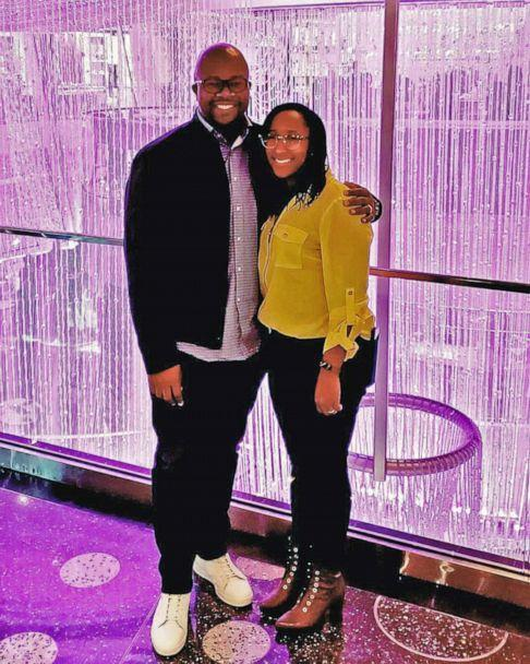 PHOTO: Jordanne Wells and her husband, Cedric Wells pose in undated photo. Jordanne Wells is the founder of Wise Money Women and created the Debt S-L-A-Y-E-R Method, which she used to pay off $30,000 in credit card debt in one year. (Kim-Cheree Jackson)