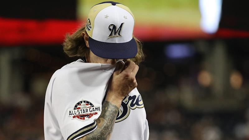 Josh Hader apologizes after offensive tweets resurface