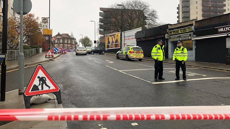 Man found stabbed to death after west London car crash