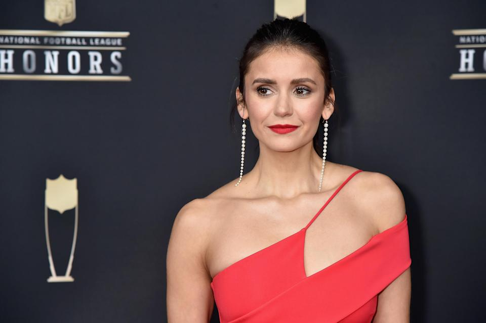 Nina Dobrev. Image via Getty Images.