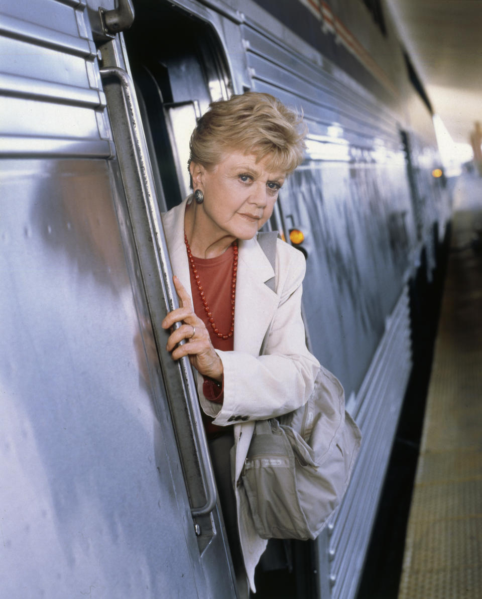 MURDER, SHE WROTE: SOUTH BY SOUTHWEST -- Pictured: Angela Lansbury as Jessica Fletcher -- (Photo by: Randy Marcus/NBCU Photo Bank/NBCUniversal via Getty Images via Getty Images)