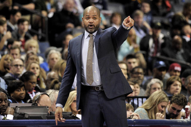 J.B. Bickerstaff became the Grizzlies' interim coach in November. (AP)