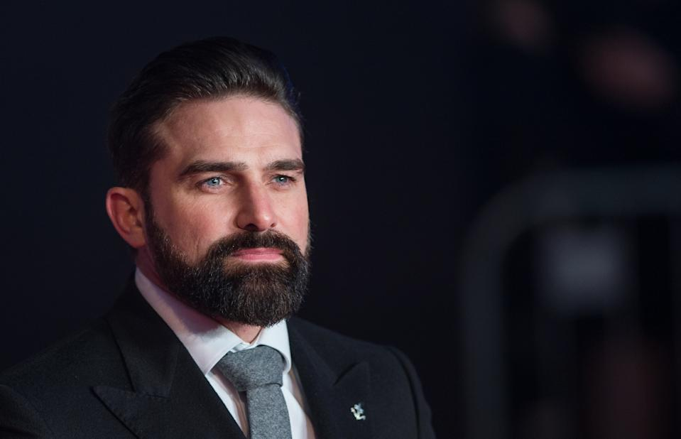 "Ant Middleton attends UK Premiere of ""The Revenant"" at Empire Leicester Square on January 14, 2016 in London, England.  (Photo by Samir Hussein/WireImage)"