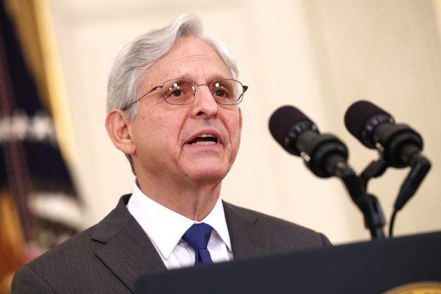 U.S. Attorney General Merrick Garland delivers remarks on gun crime prevention measures at the White House on June 23, 2021. President Joe Biden pledged to aggressively go after illegal gun dealers and to boost federal spending in aid to local law enforcement. (Photo: Kevin Dietsch via Getty Images)