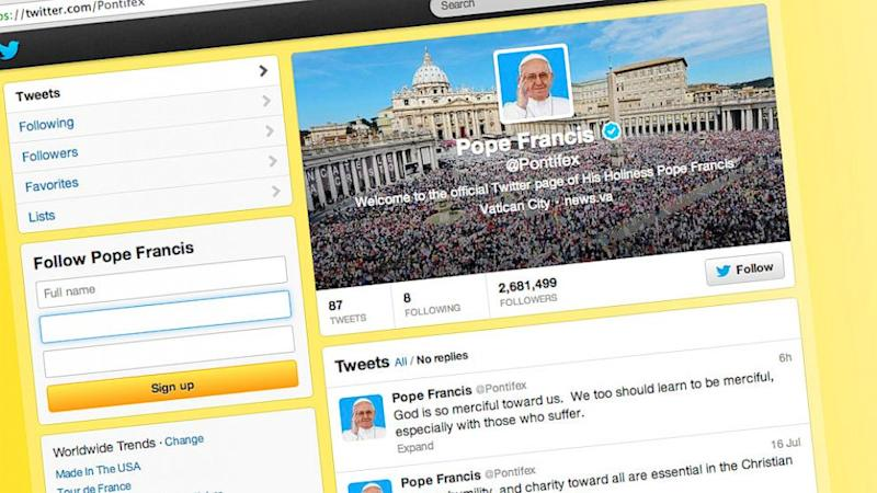 Twitter Might Get You Into Heaven a Little Faster, Vatican Reveals
