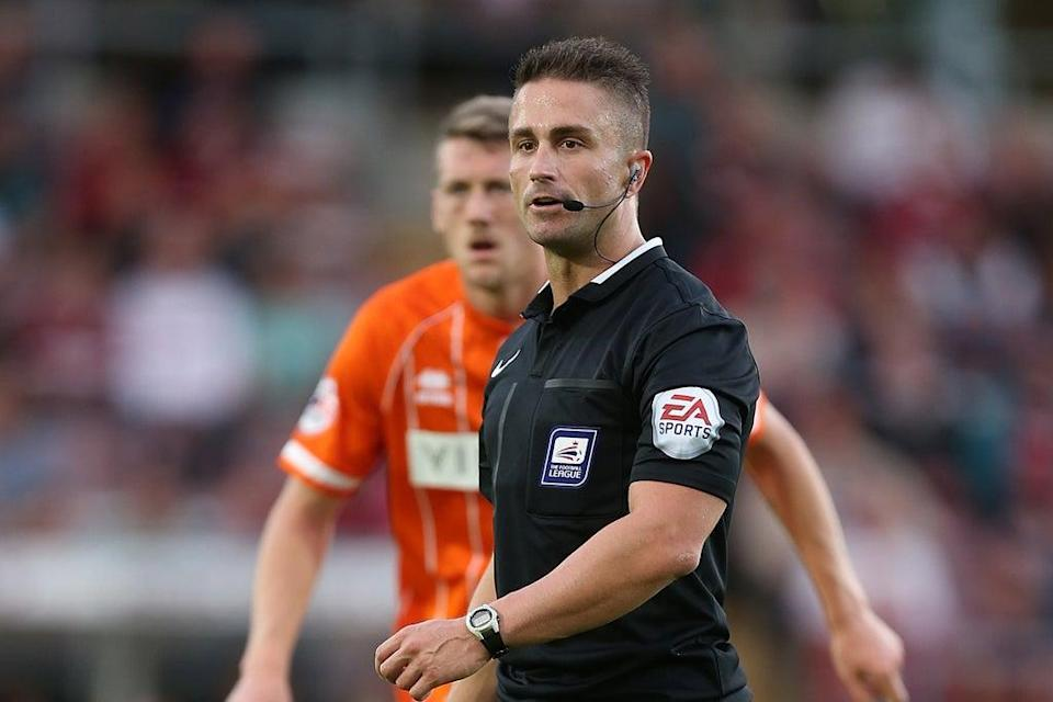 EFL referee James Adcock has come out as gay  (Getty Images)