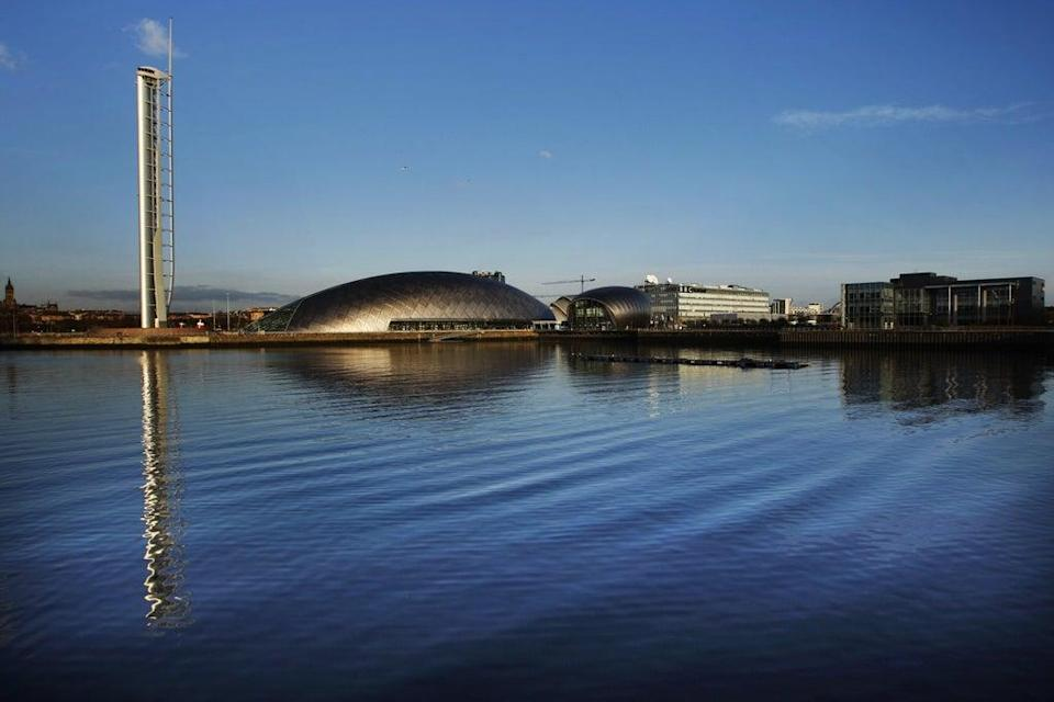 The green zone will be hosted at the Glasgow Science Centre (Danny Lawson/PA) (PA Archive)