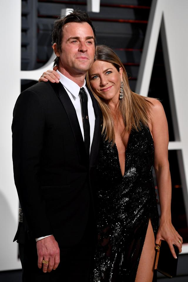 """In February, after six years together, two and half of which were as husband and wife,<a rel=""""nofollow"""" href=""""https://www.wmagazine.com/story/jennifer-aniston-and-justin-theroux-break-up?mbid=synd_yahoo_rss""""> Jennifer Aniston and Justin Theroux</a> revealed they broke up late last year."""
