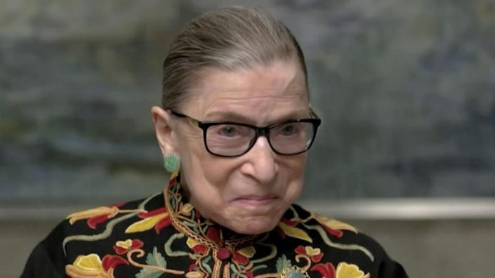 """Supreme Court Justice Ruth Bader Ginsburg in the documentary """"Ruth: Justice Ginsburg in Her Own Words."""""""