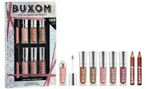 <p>With the <span>Buxom The Ultimate Lip Party Travel Size Plumping Lip Set</span> ($39), they'll have the perfect lip for every look. </p>