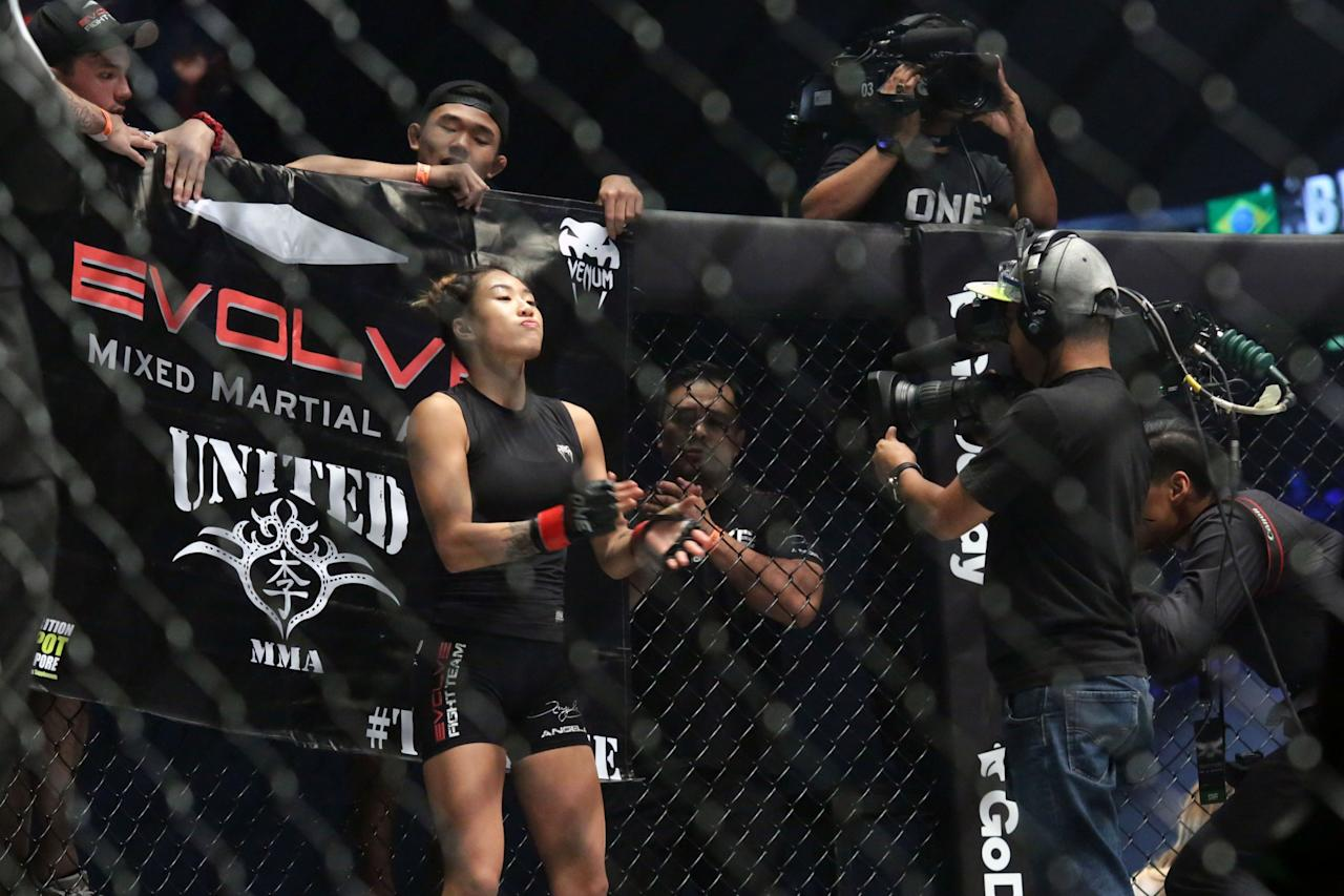 <p>Singapore's Angela Lee . (PHOTO: Dhany Osman / Yahoo Newsroom) </p>