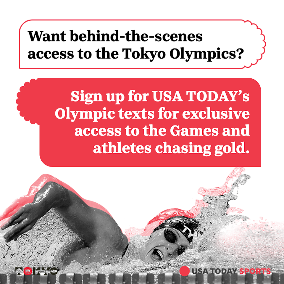 Sign up for USA TODAY's Olympic texts for exclusive access.