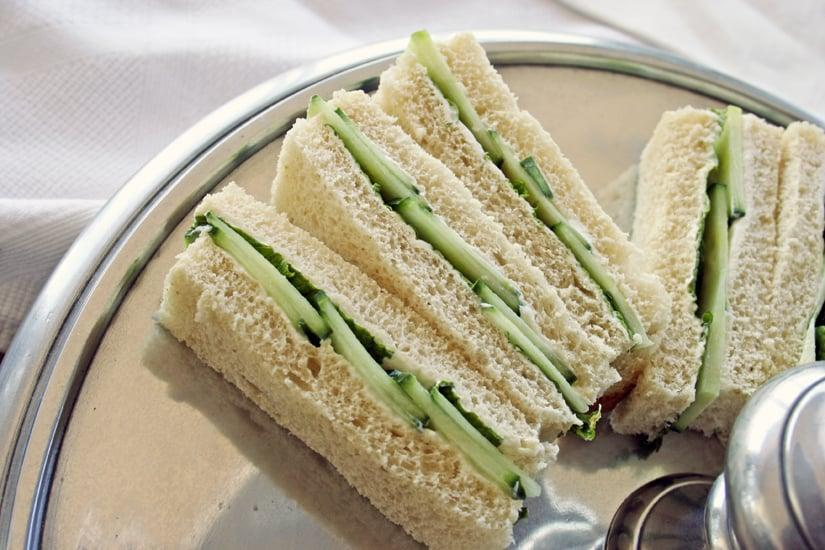 <p>As long as you store them in a cooler and an airtight container, finger sandwiches like salmon and cream cheese and cucumber can be enjoyed on the go. The little size makes them easier to manage and eat, especially if you are driving.</p>