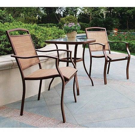 "<p>Even the tiniest patch of concrete could use this <a href=""https://www.popsugar.com/buy/Mainstays-Sand-Dune-3-Piece-Outdoor-Bistro-Set-451457?p_name=Mainstays%20Sand%20Dune%203-Piece%20Outdoor%20Bistro%20Set&retailer=walmart.com&pid=451457&price=129&evar1=casa%3Aus&evar9=46194910&evar98=https%3A%2F%2Fwww.popsugar.com%2Fhome%2Fphoto-gallery%2F46194910%2Fimage%2F46194924%2FMainstays-Sand-Dune-3-Piece-Outdoor-Bistro-Set&list1=shopping%2Cfurniture%2Csmall%20space%20living%2Coutdoor%20decorating%2Cpatios&prop13=api&pdata=1"" class=""link rapid-noclick-resp"" rel=""nofollow noopener"" target=""_blank"" data-ylk=""slk:Mainstays Sand Dune 3-Piece Outdoor Bistro Set"">Mainstays Sand Dune 3-Piece Outdoor Bistro Set</a> ($129).</p>"