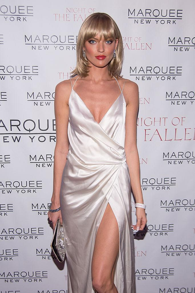 Martha Hunt as Elvira Hancock from 'Scarface' (Photo: Getty Images)