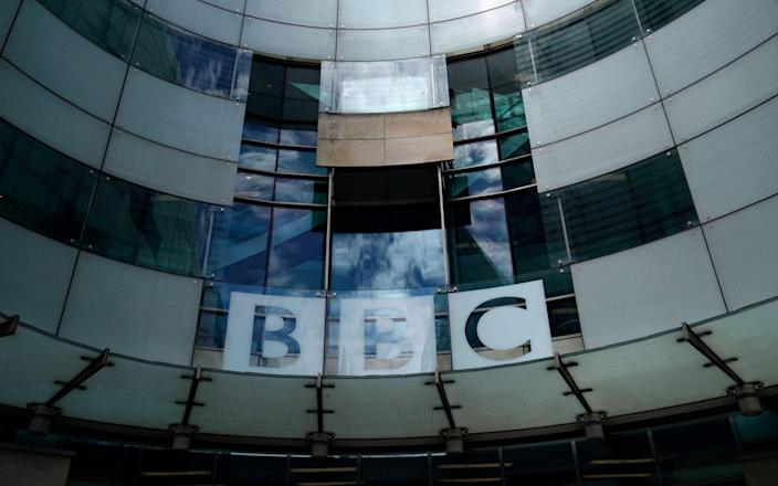 A view of the BBC Broadcasting House in Central London - Shutterstock
