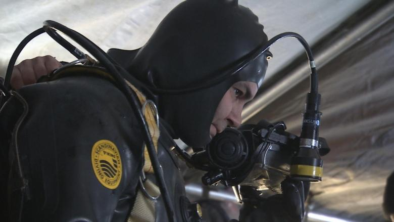 Under the ice: Military and RCMP divers work together in Arctic dives