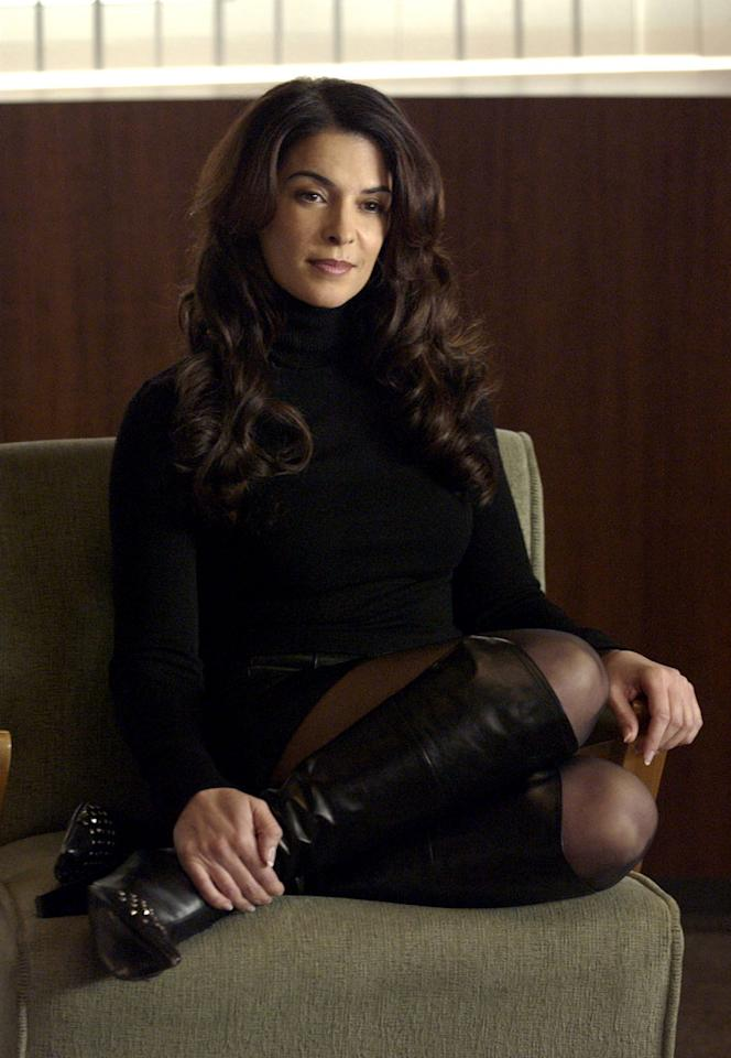 "Gloria Trillo, former mistress to Tony, took her departure from <a href=""/the-sopranos/show/218"">The Sopranos</a> by hanging herself. She would later appear in a dream sequence of Tony's, however."