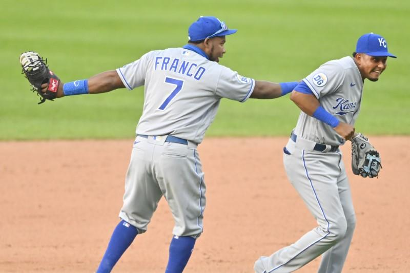 Franco helps Royals top Indians in 10th