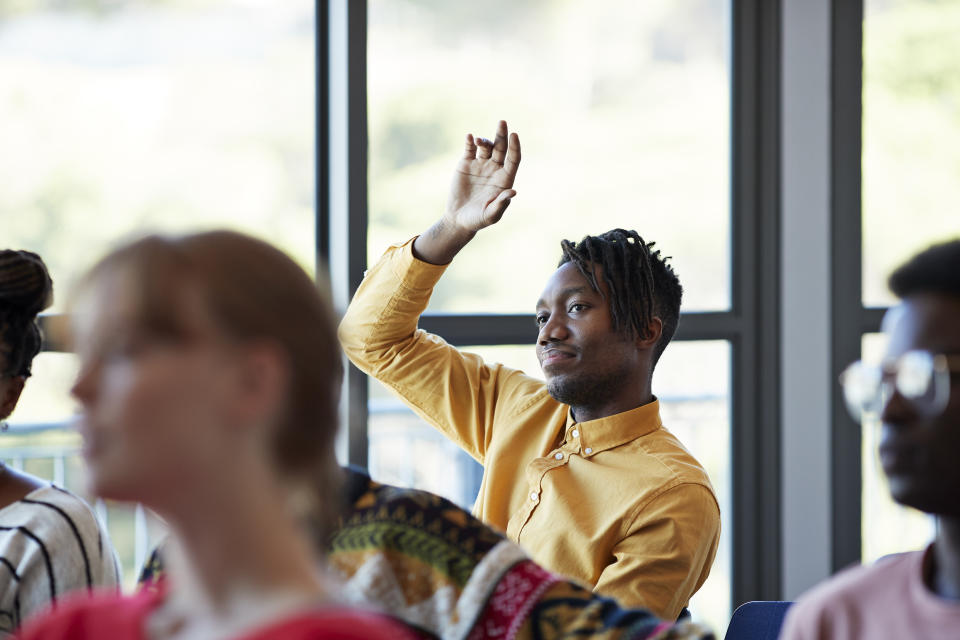 Choosing a school that has a program related to what you want to do is important—even if it's not your top priority. (Photo: Getty)