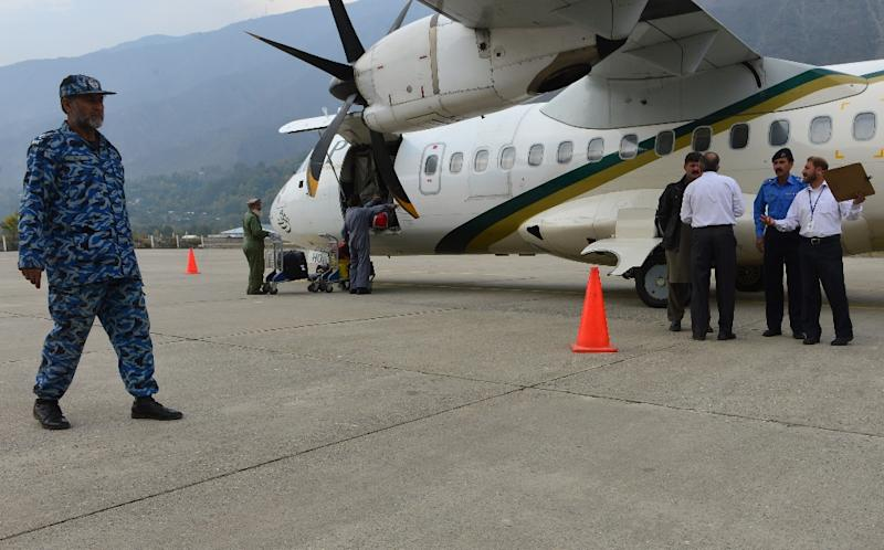 Pakistan International Airlines has grounded all its ATR planes following the December 7 crash (AFP Photo/Farooq Naeem)