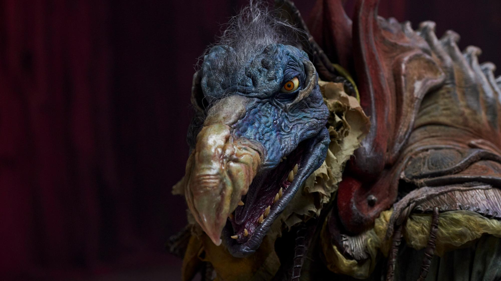 The Skeksis are back to terrify a new generation of kids in Netflix prequel series 'The Dark Crystal: Age of Resistance'. (Credit: Kevin Baker/Netflix)