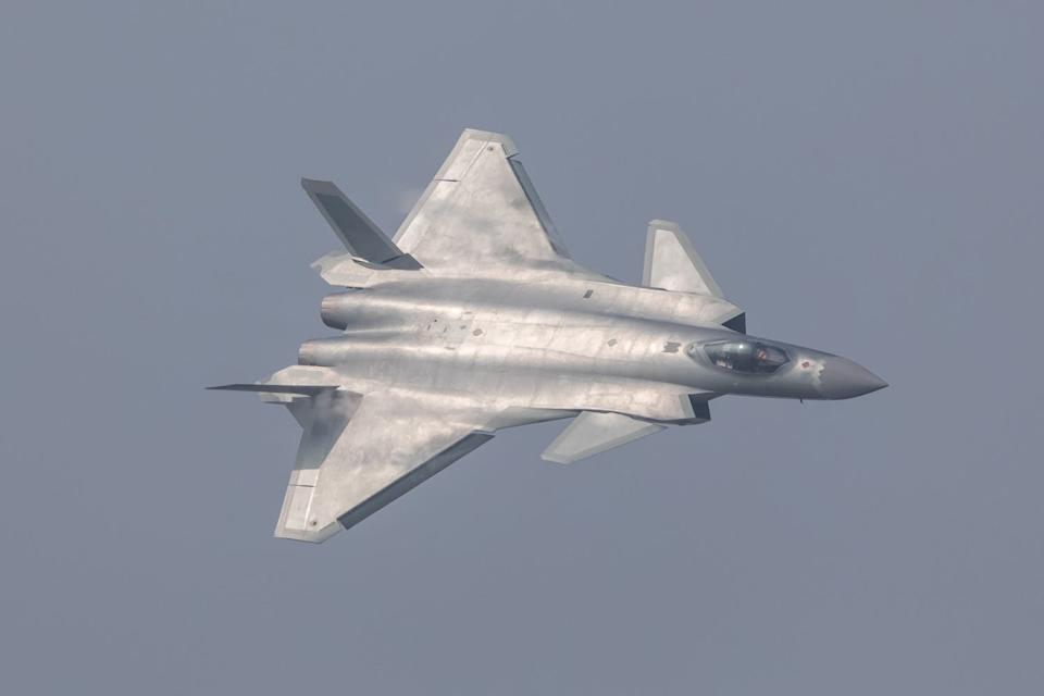 China J 20 Stealth Fighter