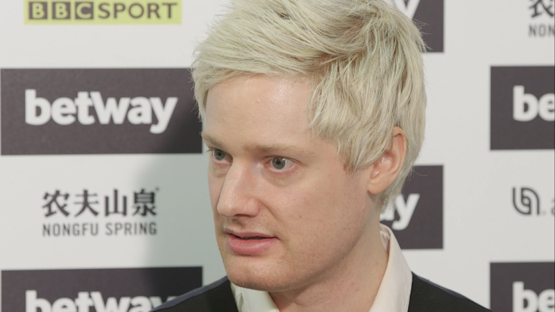 Former world champion Neil Robertson is confident he can beat anyone on the planet if he finds his best form.
