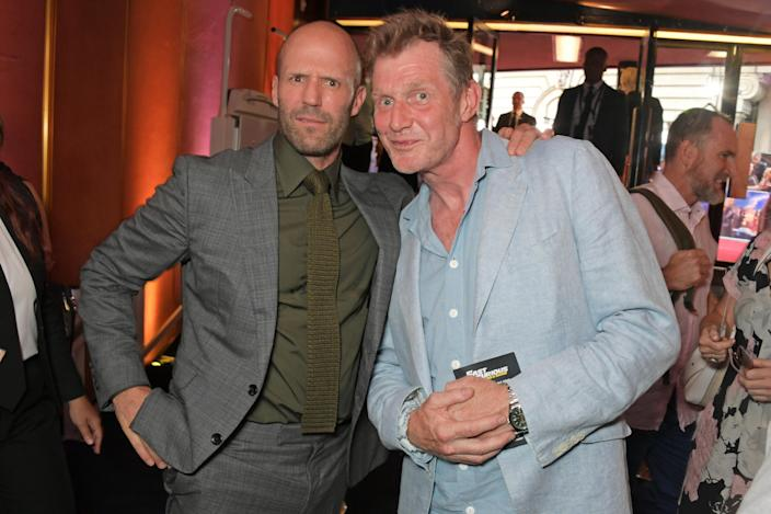 Jason Flemyng, seen here with mate and fellow actor Jason Statham, credits acting with keeping him on the straight and narrow (Photo by David M. Benett/Dave Benett/WireImage)