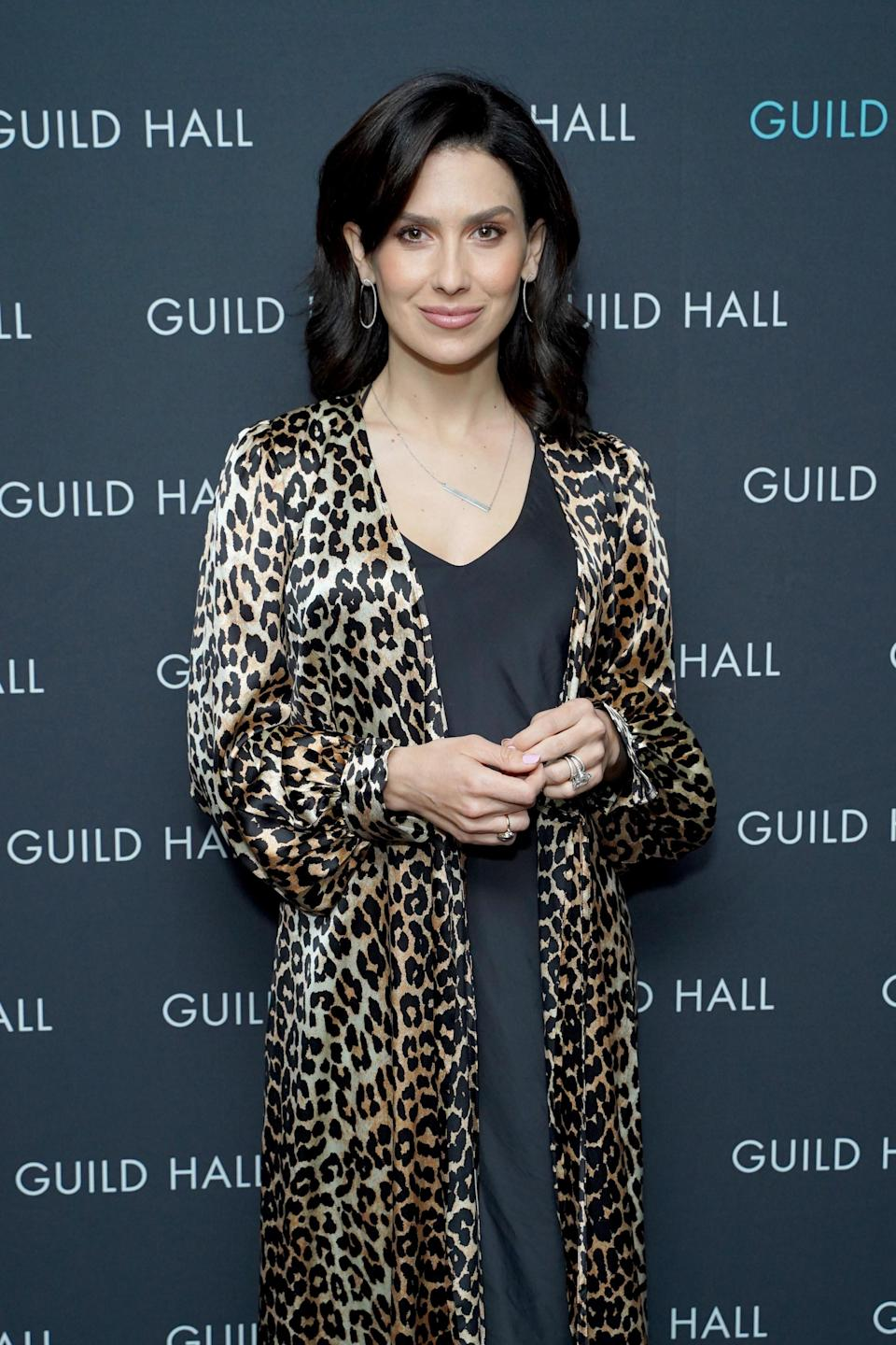 Hilaria Baldwin attends Guild Hall Academy Of The Arts Achievement Awards 2020 at the Rainbow Room on March 03, 2020 in New York City