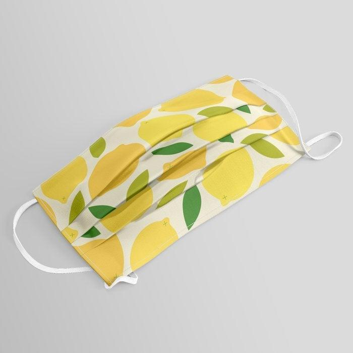 """<br> <br> <strong>forgetme</strong> Lemon Face Mask, $, available at <a href=""""https://go.skimresources.com/?id=30283X879131&url=https%3A%2F%2Fsociety6.com%2Fproduct%2Flemon1346058_mask"""" rel=""""nofollow noopener"""" target=""""_blank"""" data-ylk=""""slk:Society6"""" class=""""link rapid-noclick-resp"""">Society6</a>"""