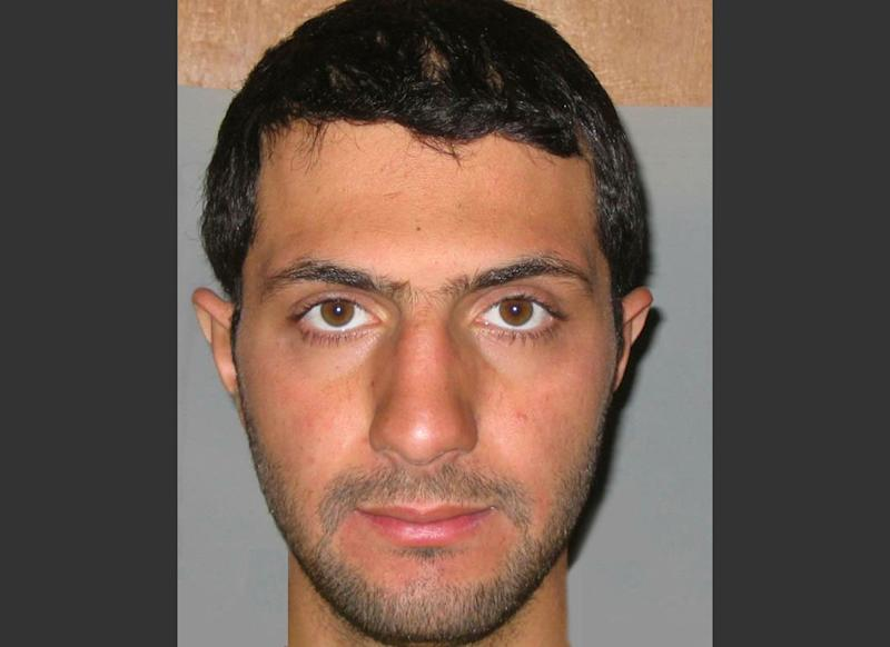 This undated photo provided by Iraqi government intelligence officials on Wednesday, Dec. 25, 2013 shows Nusra Front leader Abu Mohammed al-Golani. Iraqi intelligence officials that the shadowy leader of the powerful al-Qaida group fighting in Syria has sought to kidnap United Nations workers. The officials say they obtained the information about al-Golani, after capturing members of another al-Qaida group and that men gave them the first known photograph of al-Golani and letters written by the militant leader. (AP Photo/Iraqi Government)