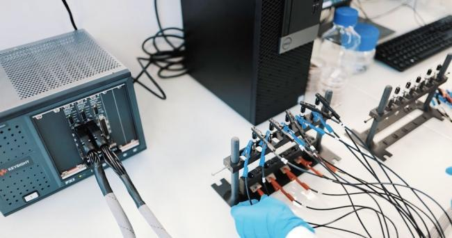 Multichannel testing of BeFC's fuel cells with Keysight's PXIe SMUs