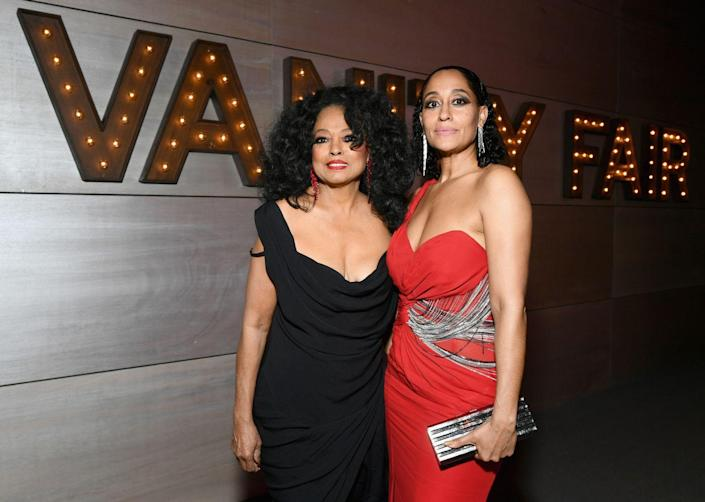 <p>Tracee Ellis Ross is the daughter of the original diva herself, Ms. Diana Ross. Since first starring in <em>Girlfriends </em>in the early 2000s, Ellis Ross has solidified herself as a star of the small screen and has been nominated for three Emmys for her role in <em>Black-ish.</em></p>
