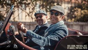 Two Dapper Gents Driving in DGD Lisbon, 2021