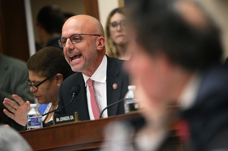 Rep. Ted Deutch, D-Fla., speaks during a hearing before the House Judiciary Committee in the Rayburn House Office Building on Capitol Hill on Feb. 08, 2019 in Washington, DC.