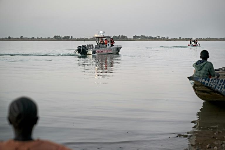 Patrol boats helped provide security for the much-awaited festival