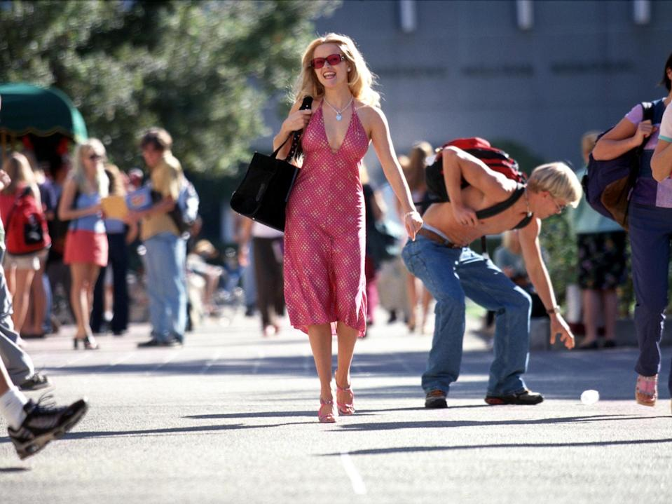 Reese Witherspoon in a scene from 'Legally Blonde' (Tracy Bennett/MGM Pictures)
