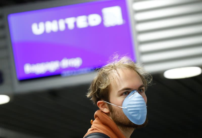 United to scale back flights to Europe after March 19