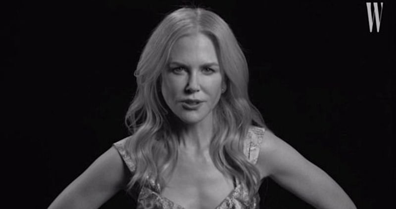 Nicole Kidman kicks off the