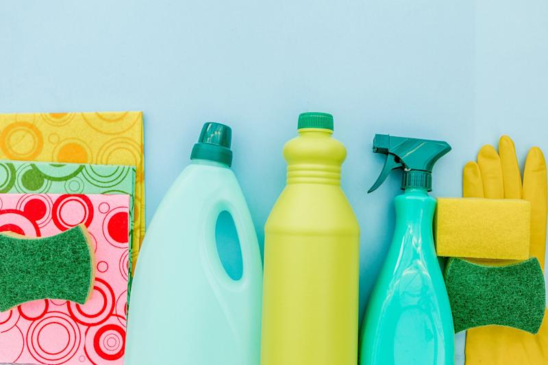 Cleaning items. Source: Getty
