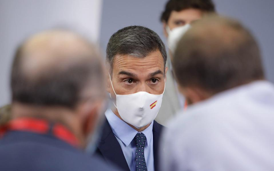 Pedro Sanchez has declared a national emergency - Europa Press